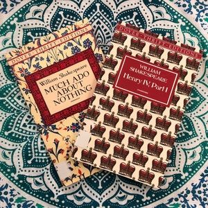 Shakespeare 2 Books Dover Thrift Editions